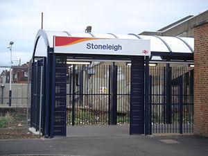 Stoneleigh railway station - Image: Stoneleigh Station 03