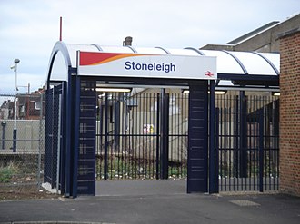 Stoneleigh railway station - Image: Stoneleigh Station 03