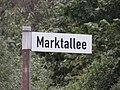 Straßenschild, Marktallee (Harrislee 2014).jpg