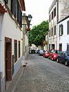 Street Santa Maria Funchal Madeira.JPG