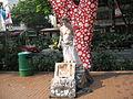 Street entertainment, Orchard Road.JPG