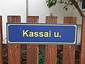 Street name sign, Kassai utca, 2019 Szigethalom.jpg
