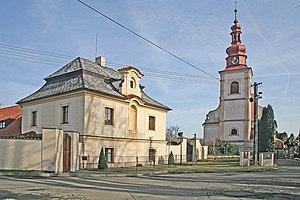 Suchdol (Kutná Hora District) - Image: Suchdol kostel Svaté Markéty