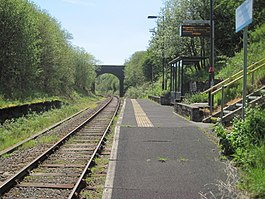 Sugar Loaf Halt railway station, Powys - geograph.org.uk - 4000275.jpg