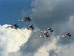 Sukhoi Su-27 Sukhoi Su-27 air show 1993 1 (17151022511).jpg