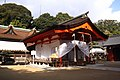 Sumiyoshi-jinja (Shimonoseki) Haiden.JPG