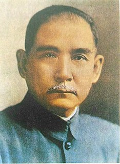 Sun Yat-sen Chinese physician, politician and revolutionary