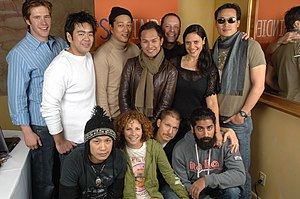 Finishing the Game - Part of the cast at 2007 Sundance Film Festival.