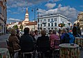 Sunday afternoon in Vilnius Old Town, Lithuania, Sept. 2008 (2937739902).jpg