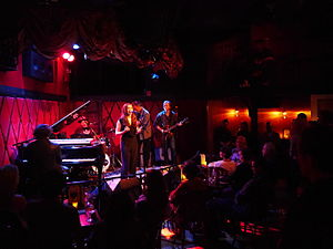 Sunny Ozell - Ozell live at Rockwood Music in New York City, 2015
