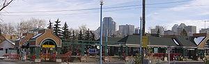 Sunnyside station (Calgary) - Image: Sunnyside (C Train) 1