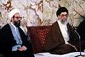 Supreme Leader Ali Khamenei in Shah Abdol Azim Mosque (28).jpg