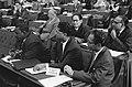 Surinaamse Statenleden in Tweede Kamer v.l.n.r. J.A. Pengel , D. Poetoe en mr. C, Bestanddeelnr 914-1226.jpg