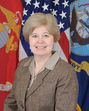 Assistant Secretary of the Navy (Financial Management and Comptroller) - Image: Susan J. Rabern