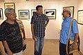 Susanta Banerjee - Sabyasachi Chakrabarty - Abhoy Nath Ganguly - Group Exhibition - PAD - Kolkata 2016-07-29 5202.JPG