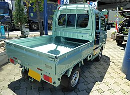 Suzuki SUPER CARRY X (EBD-DA16T-KSXF) rear.jpg