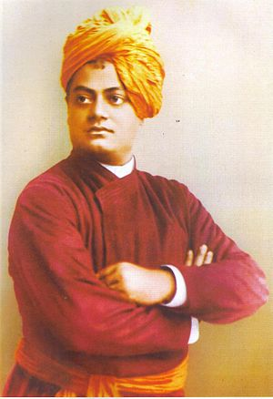 Teachings and philosophy of Swami Vivekananda - Image: Swami Vivekananda 1893 Scanned Image