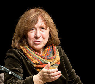 Svetlana Alexievich Belarusian investigative journalist and non-fiction prose writer