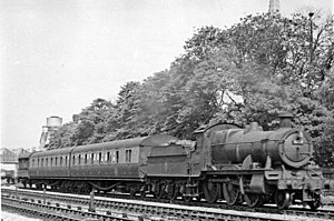 GWR 4300 Class - No. 5327 at Swindon 11 June 1950 (modified to the heavier version as No. 8327 1928-1944).
