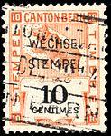 Switzerland Bern 1914 revenue 10c - 89.jpg