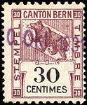 Switzerland Bern 1930 revenue 30c - 106B.jpg