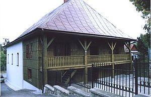 Bobowa - Historic Bobowa Synagogue from 1778