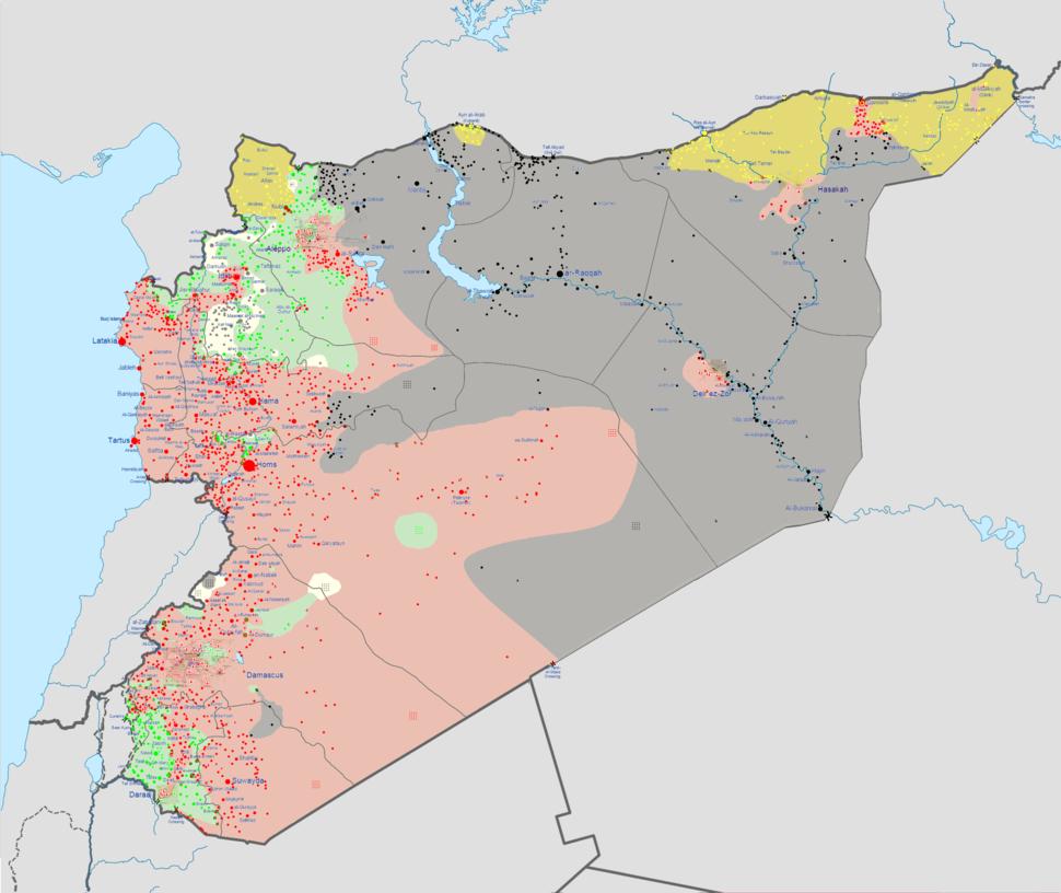 Syrian civil war 01 02 2015