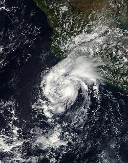 TD-18-E, le 26 octobre 2006, vers 17h55 UTC