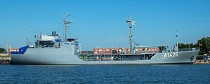 Walchensee-class tanker - Image: TEGERNSEE 1871
