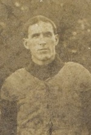 T. S. Sims - Sims in football uniform, c. 1905