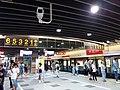 TW 台北市 Taipei 大安區 Da'an District 台北捷運 MRT Station interior August 2019 SSG 27 Metro 大安站 Daan Station.jpg