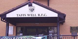 Taffs Well RFC Welsh rugby union football club