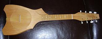 Music of Tahiti - A Tahitian ukulele, or Tahitian banjo.