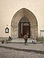 Tallinn Oleviste Church main portal.jpg
