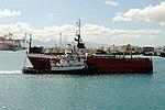 Tango II being tugged at the harbor. (4674120526).jpg