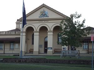 Taree - Taree Courthouse.