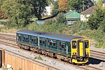 Taunton - GWR 150247 on relief line.JPG
