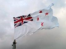 Te Kaha's Naval Ensign Flying Proud.jpg