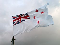 Te Kaha's Naval Ensign Flying Proud.jpg