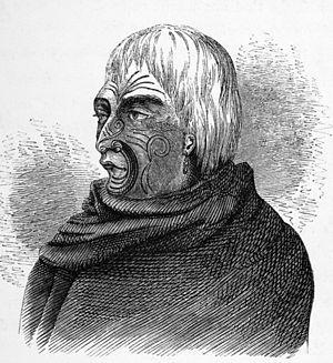 Te Rauparaha - Te Rauparaha, contemporary sketch