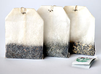 Tea bag - Three different teas in tea bags