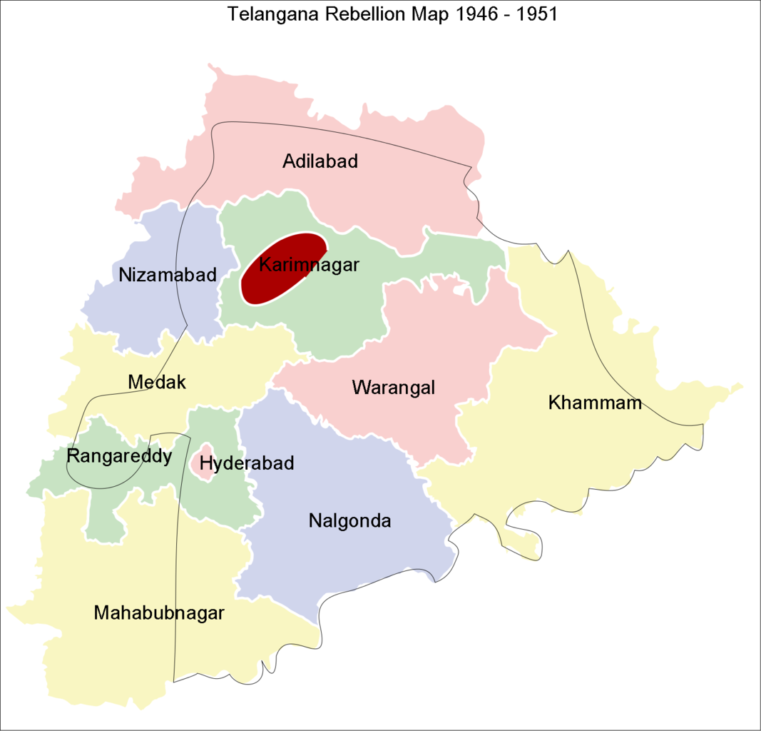 the telangana rebellion The second of june was telangana formation day india's youngest state took a long struggle to come by what started off as a small rebellion in the erstwhile nizam's dominion of deccan, gradually became a revolution of sorts in the south of the vindhyas.