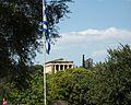 Temple d'Hefest de l'àgora d'Atenes des de lluny.JPG