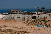 Tent camp gaza strip april 2009