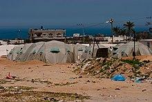 On the gaza strip