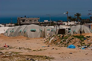 Tent Camp, Gaza Strip