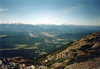 Terrace, British Columbia - View from Mount Thornhill