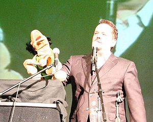 Terry Fator - Fator at the Poncan Theatre in Ponca City, Oklahoma on May 6, 2008 with Winston the Impersonating Turtle