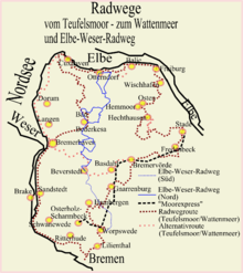 weser radweg karte pdf Elbe Weser Radweg – Wikipedia