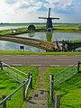 Texel - Lancasterdijk - View West on Molen Het Noorden - Wonderful Landscape Triangles.jpg